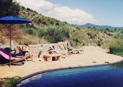 Kundalini Yoga School Retreat Italy - Swimming pool