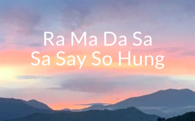 Ra Ma Da Sa, a powerful Kundalini Yoga mantra for healing